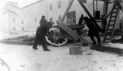 Headframe Collapse - Cochenour Mine (1939)