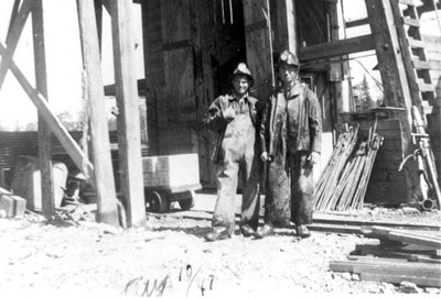 Two Miners at McMarmac Mines (1941)