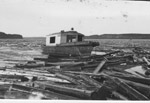 Log Boom / River Drive(~1937)