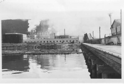 New Dock at Lake Sulphite Pulp and Paper Co. (~1938)