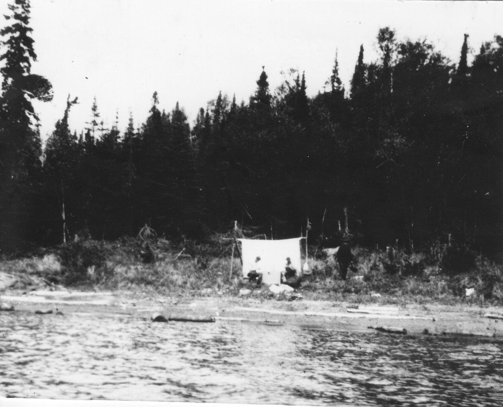 Camp in Otter Cove - 1920's