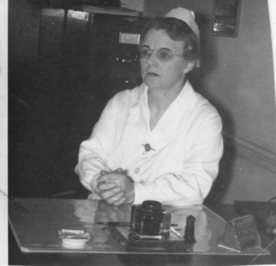 Miss Vera Gibson (nurse)