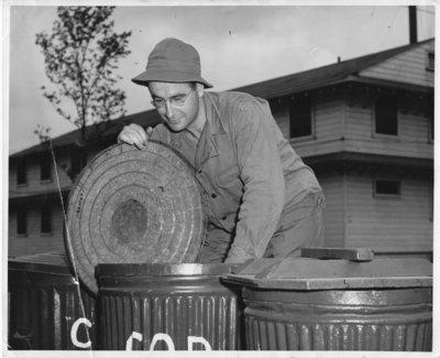 Bill Thomson in U.S. Army