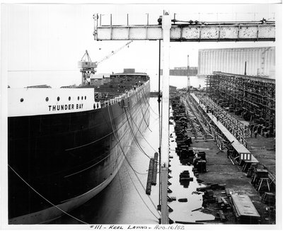 Thunder Bay Ship - Stephen Mikoski Collection