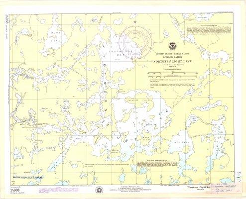 Northern Light Lake : United States - Great Lakes Border Lakes