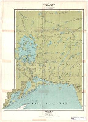 Ontario : Lake Nipigon Sheet