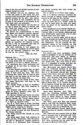 Railroad Telegrapher - Schreiber Division News 1921