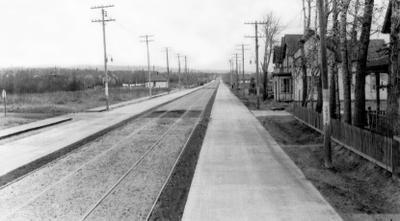 Cumberland Street North, Port Arthur, Ontario, ca 1934