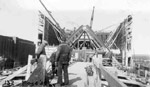 Port Arthur Ore Dock - Final Stages (May 4 1945)