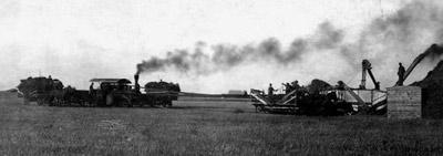 Harvesting Wheat (1913)