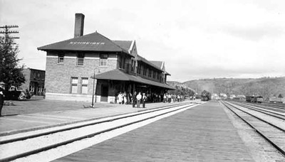 Schreiber Train Station