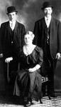 Henry and Lempi with Kalle Kilponen(1921)