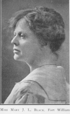 Mary J.L. Black, 1879-1937 (~1921)