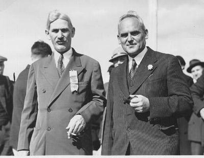 C.D. Howe and Peter Heenan