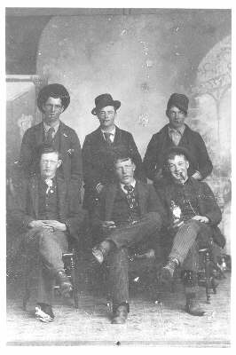 Six Young Men, Port Arthur (1890)