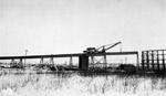 Port Arthur Ore trestle - traveling crane (March 8 1945)