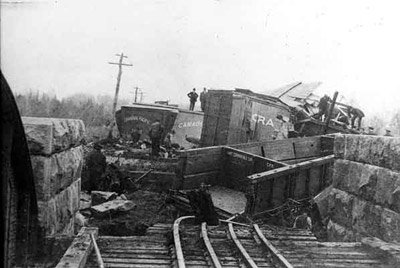 Canadian Pacific Trainwreck