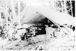 A Mining Tent in the Bush
