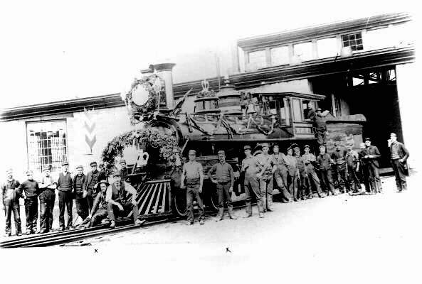 First C.P.R. Train to Pass Through Fort William and Port Arthur (1886)