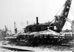 T.C.R. Construction - Steam Shovel Loading the Boxcars