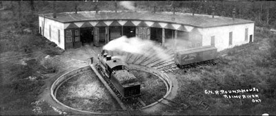 C.N.R. Roundhouse and Turntable