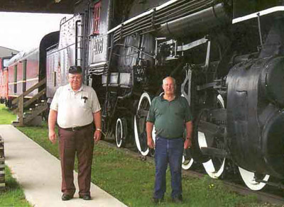 Engineer John Sirman, Fireman Don Marchuk