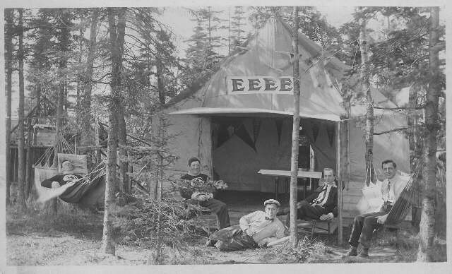Chippewa Park Camping (~1928)