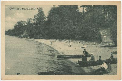 Beach, Grimsby Beach, Ont.