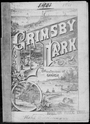 1891 Grimsby Park Program