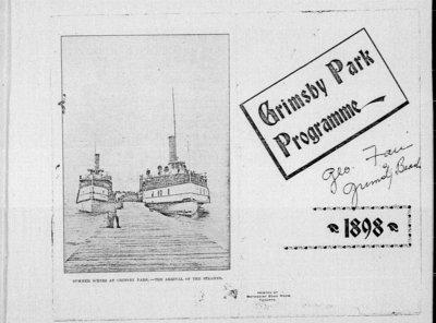 1898 Grimsby Park Program