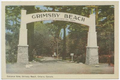Entrance Gate, Grimsby Beach, Ontario Canada