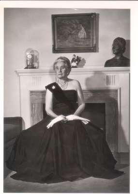 Agnes Macphail in formal wear