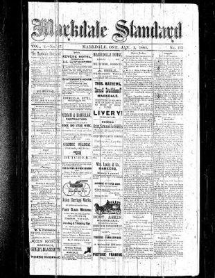 Markdale Standard (Markdale, Ont.1880), 3 Jan 1884
