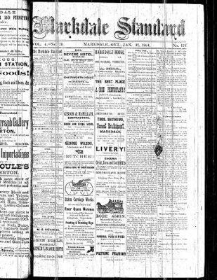 Markdale Standard (Markdale, Ont.1880), 17 Jan 1884