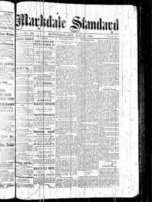 Markdale Standard (Markdale, Ont.1880), 15 May 1884