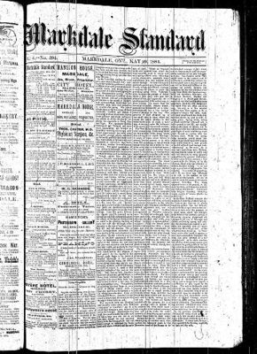 Markdale Standard (Markdale, Ont.1880), 29 May 1884