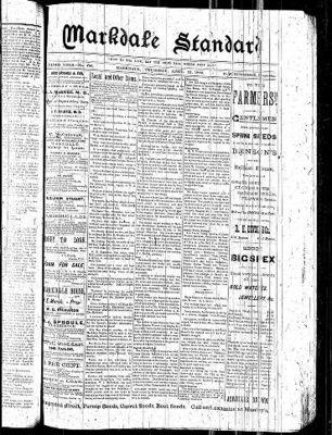 Markdale Standard (Markdale, Ont.1880), 25 Apr 1889