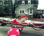 Jack Carson in the Priceville Santa Claus Parade