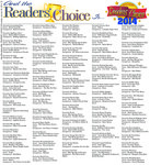 Readers' Choice, page 22
