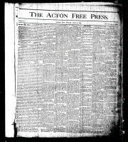 Acton Free Press (Acton, ON), July 2, 1875