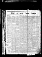 Acton Free Press (Acton, ON), July 9, 1875