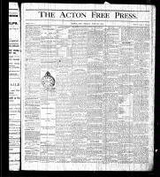 Acton Free Press (Acton, ON), July 23, 1875