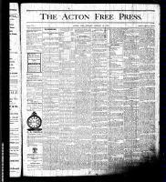 Acton Free Press (Acton, ON), August 13, 1875