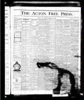 Acton Free Press (Acton, ON), August 20, 1875