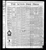 Acton Free Press (Acton, ON), August 27, 1875