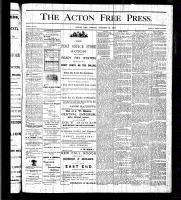 Acton Free Press (Acton, ON), October 15, 1875