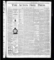 Acton Free Press (Acton, ON), November 12, 1875