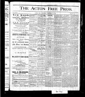 Acton Free Press (Acton, ON), December 30, 1875
