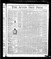 Acton Free Press (Acton, ON), January 6, 1876