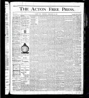 Acton Free Press (Acton, ON), February 10, 1876